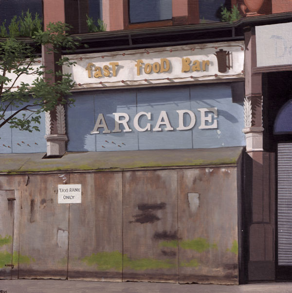 Closed Arcade, Belfast, Northern Ireland