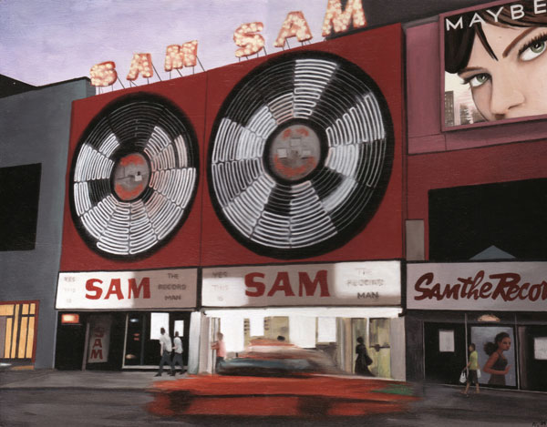 Sam the Record Man (RIP), Toronto