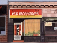 Ace Restaurant and Venus Florists, Roncesvalles ave, Toronto